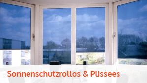 Sonnenschutzrollos & Plissees
